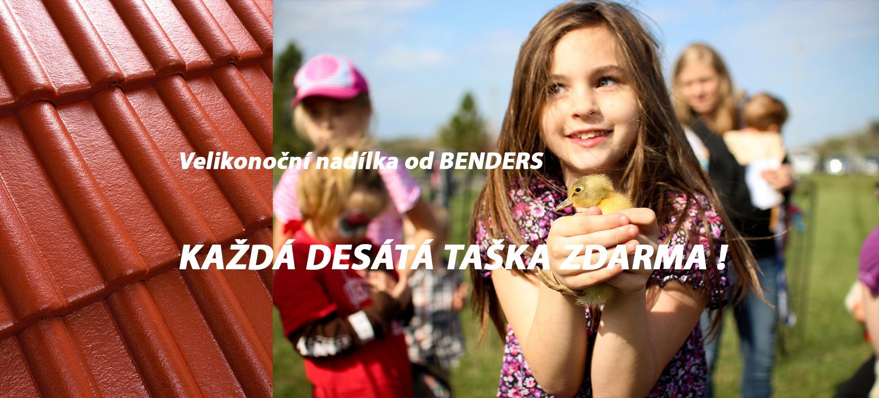 VELIKONOČNÍ NADÍLKA OD BENDERS!