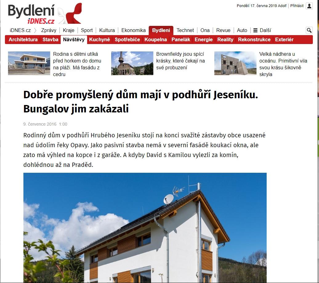 Bydlení- idnes.cz